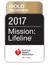 2017 Mission Lifeline Gold Award