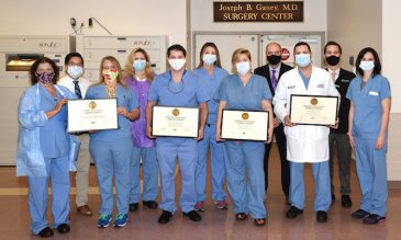Manatee Memorial Hospital Accredited as a Center of Excellence in Robotic Surgery