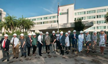 A brand new emergency care center in the making