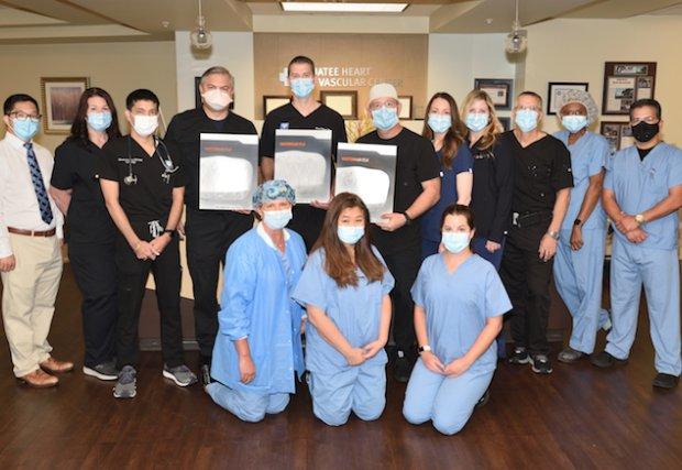 Manatee Memorial es el primer hospital en Florida en llegar a 500 implantes de cierre del apéndice auricular izquierdo WATCHMAN ™