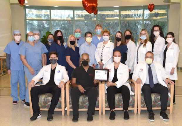 Manatee Memorial Hospital Awarded Transcatheter Valve Certification From the American College of Cardiology