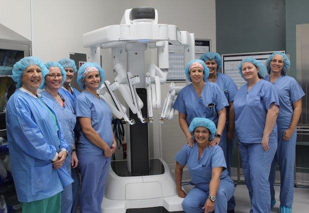 Sistema quirúrgico da Vinci Xi de Manatee Memorial