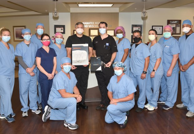 Manatee Memorial Is First Hospital on Florida West Coast To Implant Next-Generation WATCHMAN FLX™ Left Atrial Appendage Closure