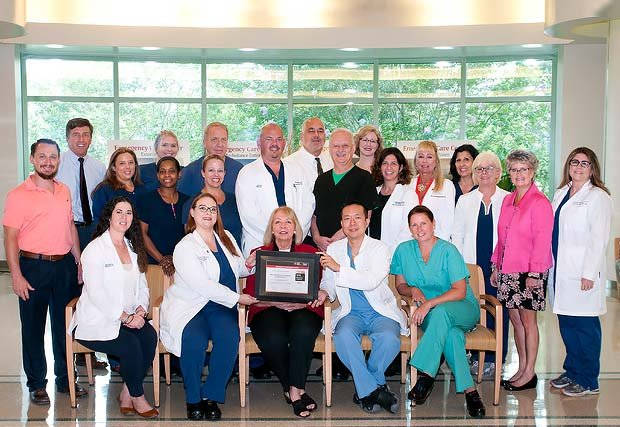 Manatee Memorial Hospital's Cardiac Services Honored With American Heart Association's Mission: Lifeline Gold Achievement Award for the Fourth Year