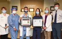 Manatee Memorial Hospital honrado con la misión de American Heart Association®: Lifeline® STEMI Receiving Center Gold Quality Achievement Award