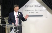 Wellington Regional Medical Center Names Level III NICU After Manatee Memorial Hospital CEO Kevin DiLallo